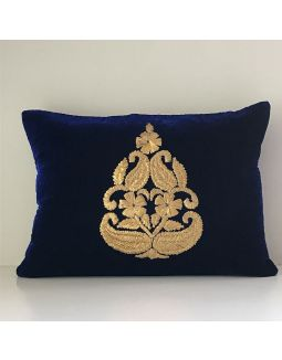 Blue Gota Work Cushion Cover