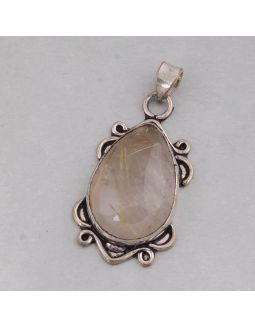 Golden Rutile Alloy Pendant