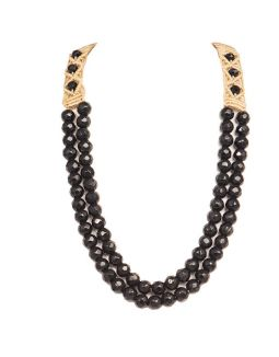 Black Jade Stone Necklace