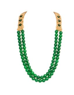 Green Jade Stone Necklace