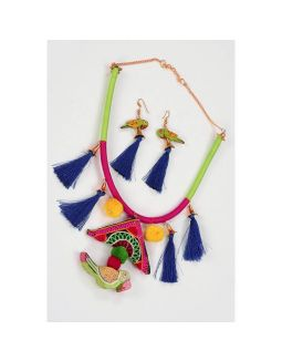 Colors Of Navratri With Tassels