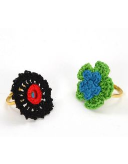 Crochet Finger Rings