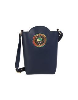 Blue Bucket Sling Bag