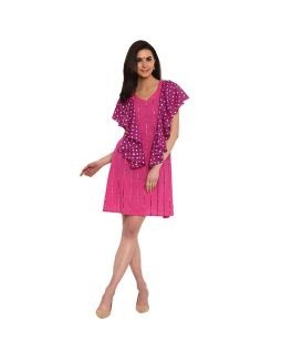 Pink Ruffel Dress