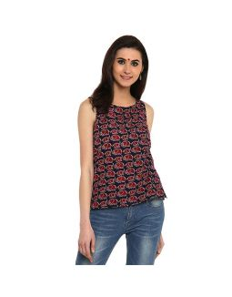 Elephant Printed Top