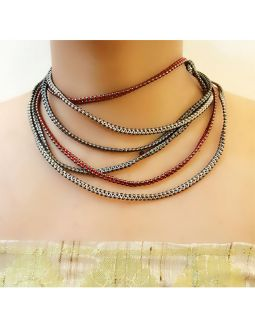 Multilayer Short Necklace
