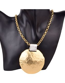 Gold and Silver Necklace