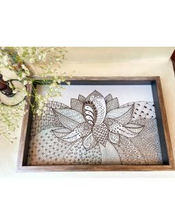 Lotus Wooden Tray