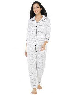 Salt and Pepper Classic Pajama Set