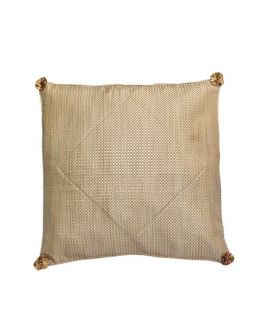 Gold Brocade Cushion Cover