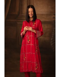 Red Warrior Love Tunic & Trousers
