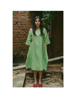 Powder Green Dress