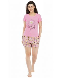 Believe In Yourself Shorts Set