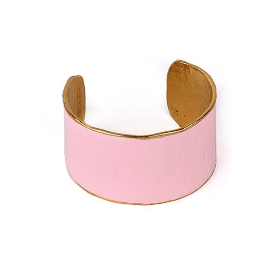 Pink Gold Plated Cuff