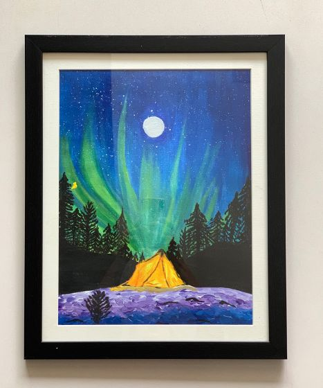Northern Lights- Canvas painting