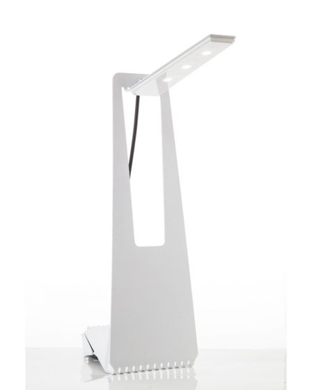 Z-Light Tall Silver 9W Table Lamp