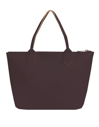 Purple Aubergine Tote Bag