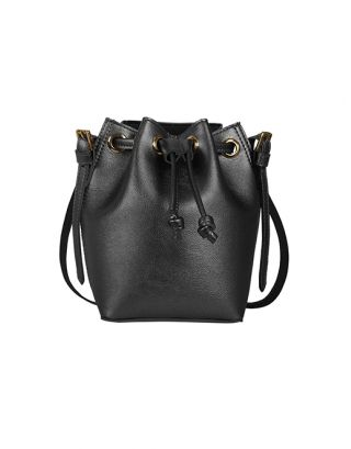 Charcoal  Penny bucket bag