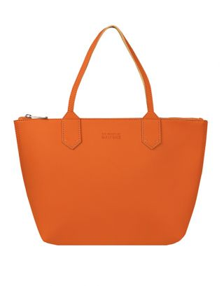 Orange Tan Tote Bag