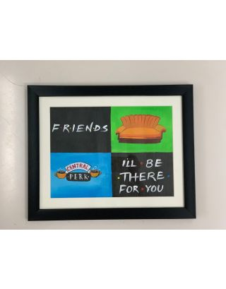 F.R.I.E.N.D.S- Canvas Painting
