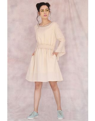 Beige Damsel Dress