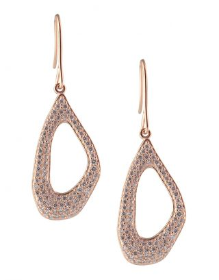 Rose Gold Plated Hollow Dangler