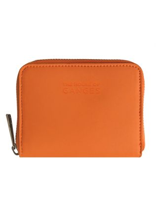 Orange Leather Wallets