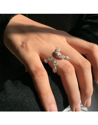 Designer Zirconia Ring
