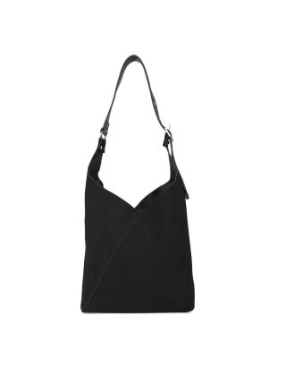 Black Swede Shoulder Bag