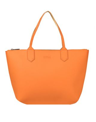 Tangerine Mud Large Tote Bag