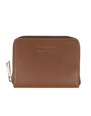 Beige Leather Wallets