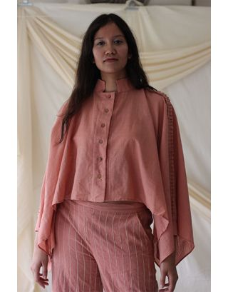 Rose Pink Over-sized Shirt