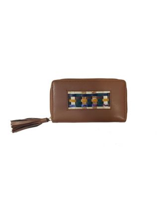 Brown Up & Down Wallet