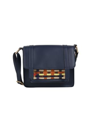 Blue Pocket Pop Sling Bag