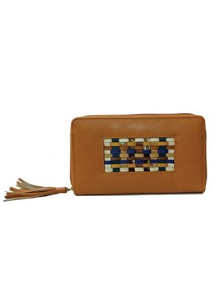 Tan Handcrafted Wallet