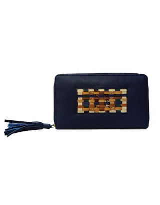 Blue Handcrafted Wallet