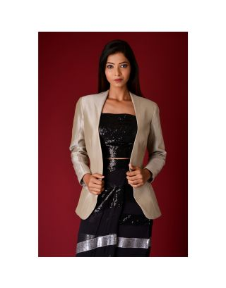 Black Pencil Skirt with Blazer