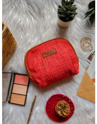 Cherry Red Mini Pouch