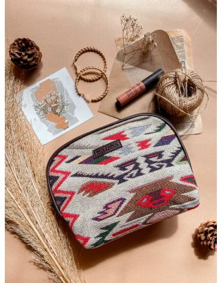 Tribal Weaves Maxi Pouch