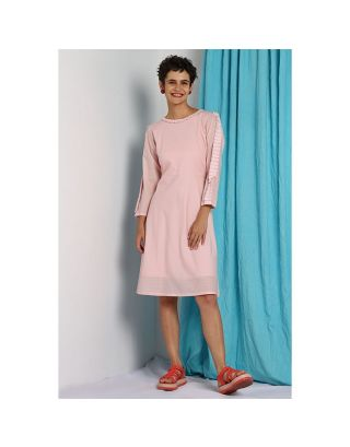 Pink Double Layered Dress