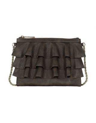 Brown small sling bag