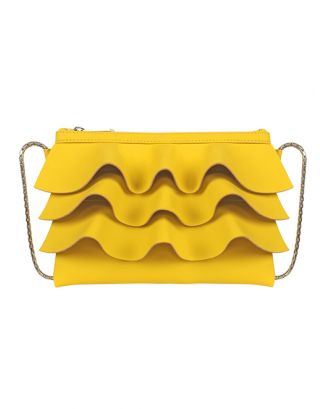 Yellow small sling bag