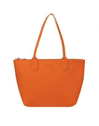 Tan small tote bag