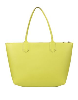 Lime Large Tote Bag