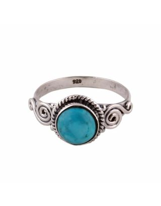 Sonoran Turquoise Silver Ring
