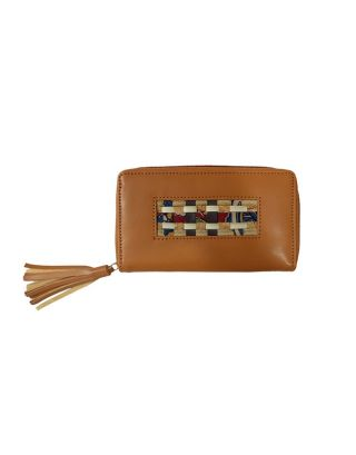 Tan Up & Down Wallet