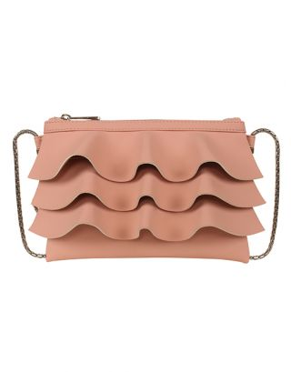 Blush pink small sling bag
