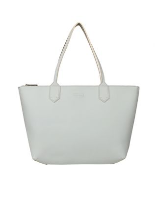 Ice blue small tote bag