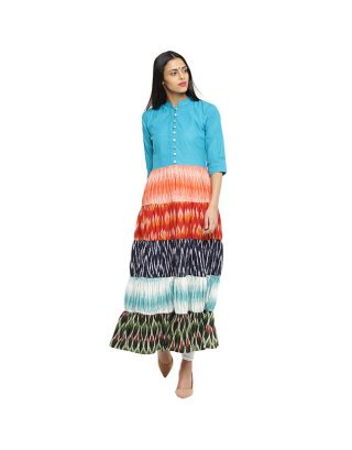 Multicolor Long Tunic