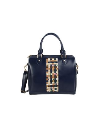 Blue Stylish Duffle Bag